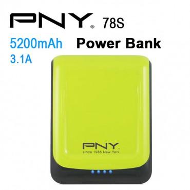 Pny Power Bank 78s Green 7800mah 2 Usb Output 78s-green