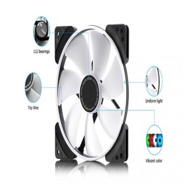Fractal Design Case Fan : Prisma Sl-14 White Fd-Fan-Pri-Sl14-Wt