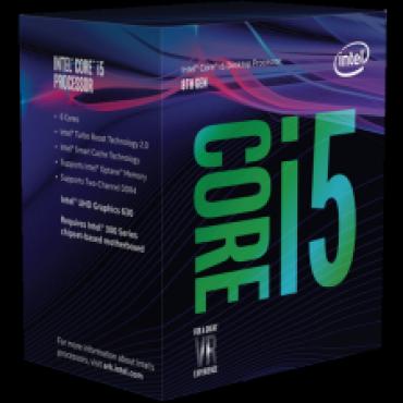 Intel Processor: Core i5-8600K Coffee Lake CPU 6 Core 6 Threads LGA1151 up to 4.30GHz 8GT/ s