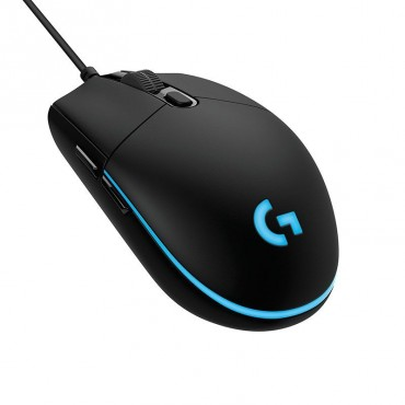 Logitech G Pro Wired Gaming Mouse Light Sync Rgb 16k Hero Sensor Buttons(6) 2yr Wty 910-005442