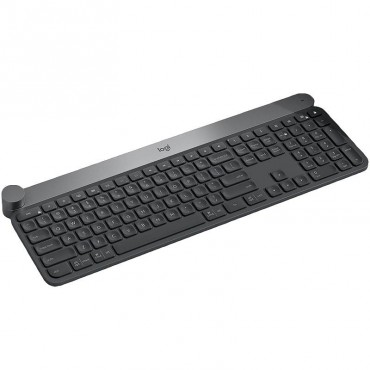 LOGITECH CRAFT ADVANCED KEYBOARD WITH CREATIVE INPUT DIAL-USB OR BLUETOOTH CONNECT 1YR WTY 920-008507