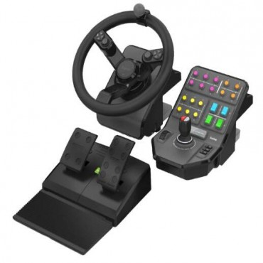 LOGITECH G FARM HEAVY EQUIPMENT BUNDLE - WHEELS PEDALS AND PANEL CONTROL - 2 WTY 945-000026