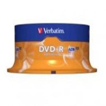 VERBATIM DVD-R 25pk Spindle - 4.7GB 16x 95058
