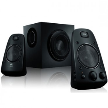 Logitech Speakers: Z623 2.1 Stereo THX Certified 200W RMS flexible connectivity & integrated controls