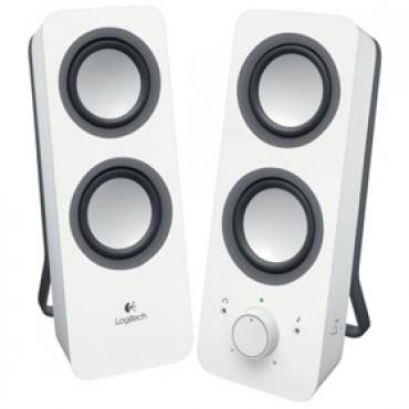 LOGITECH Z200 SPEAKERS - WHITE 980-000851