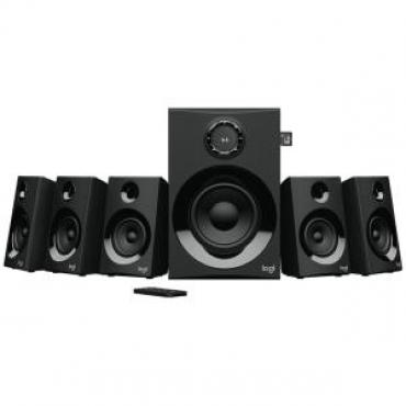 Logitech Z607 5.1 Surround Sound Speakers With Bluetooth Rms(160w) 3.5mm(1) Rca(3) 1yr 980-001318