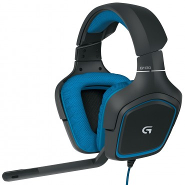 Logitech Headset: G430 USB 7.1 Surround Sound Gaming 981-000538