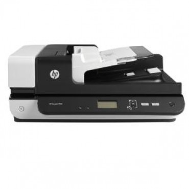 HP SCANJET ENTERPRISE FLOW 7500 S2 FLATBED SCANNER / 50 PPM 100 IPM / UP TO 600 DPI / RDDC 2000 PAGES