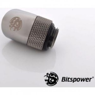 Bitspower G1/4 Rotary Ig1/4 Extender 45-degree Type With 360-degree Rotation. True Hi-flow Design With Hi-quality Brass Material. High Durabi Bp-bs45r