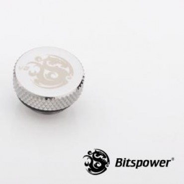 Bitspower G1/4 Stop Fitting V2 Sliver 5mm Stop Fitting. Design For Thread G1/4 With Muti-function Application. Hi-quality Brass Material. Bp-wtp-c06v2