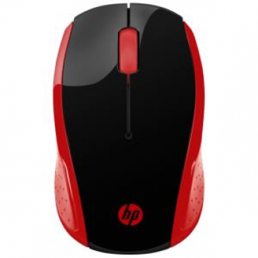 Hp 200 Emprs Red Wireless Mouse 2Hu82Aa