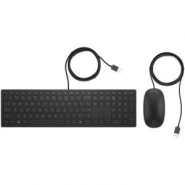 HP Pavilion Wired Keyboard and Mouse 400 4Ce97Aa