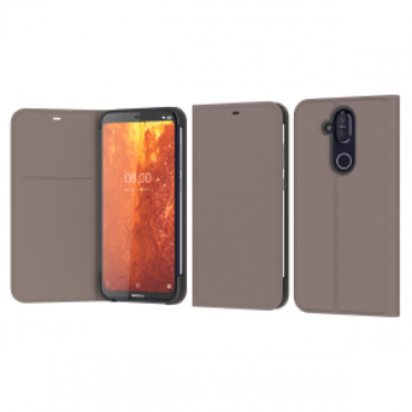 Hmd Nokia 8.1 Flip Cover Grey 8P00000046