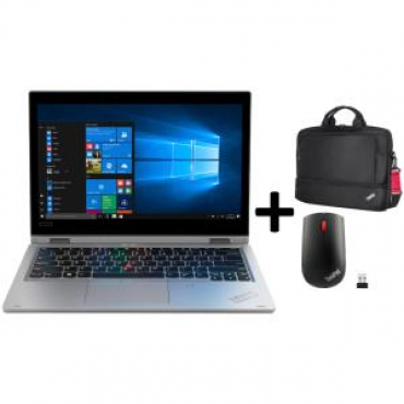 Lenovo Thinkpad L390 Yoga + Bag(4X40E77328) + WIFI MOUSE(4X30M56887) 20Nts00R00-Bag-Mouse