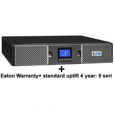 EATON 9PX 1000VA RACK/TOWER 10AMP + Warranty+ standard uplift 4 year: 9 seri (3973757 + 2681779)