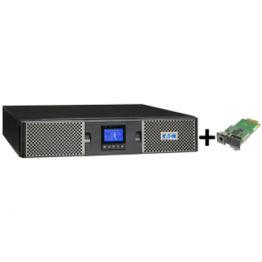 EATON 9PX 1000VA RACK/TOWER 10AMP + Gigabit Network Card (3973757 + 4334350)