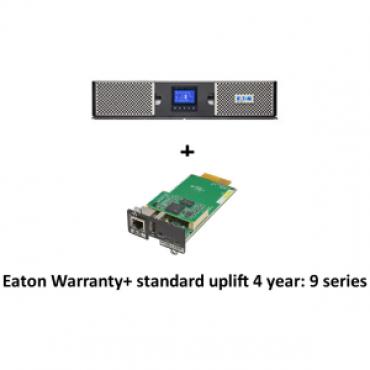 Eaton 9PX 3000VA 2U Rack/Tower, 16Amp In + Warranty+ standard uplift 4 year: 9 seri + Gigabit Network Card (3974547 + 2681781 + 43343)