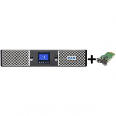 Eaton 9PX 3000VA 2U Rack/Tower, 16Amp In + Gigabit Network Card (3974547 + 4334350)