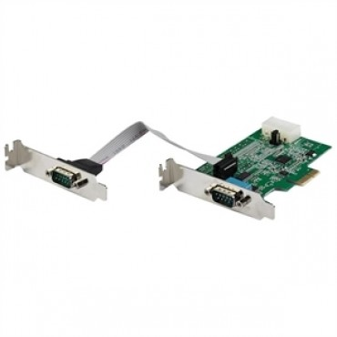 Startech Card - 2 Port Rs232 Serial Adapter Pcie Pex2S953Lp