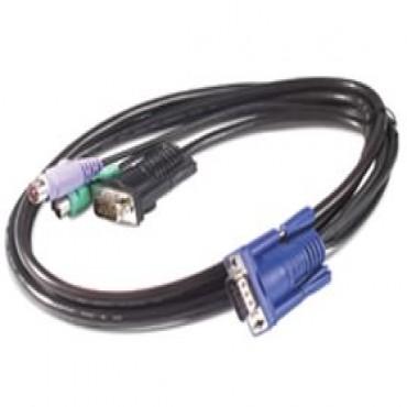 Apc Kvm Ps/ 2 Cable - 6ft (1.8m) Apc Kvm Ps/ 2 Cable - 6ft (1.8m) Ap5250