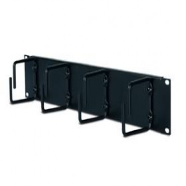 Apc 2u Horizontal Cable Organizer Black 2u Horizontal Cable Organizer Black Ar8426a