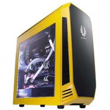 BitFenix Aegis Case w/ Display Yellow, , Colour, mATX, NO PSU CABF-AEGIS-D-YE