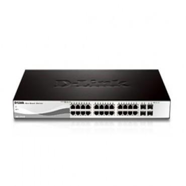 D-link Des-1210-28p 24-port + 2xgigabit Ports & 2xgigabit Ports/ Sfp Web Sw Poe