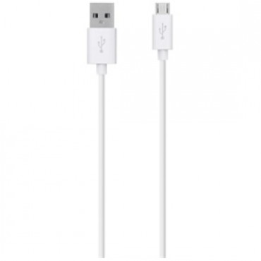 BELKIN MIXITUP Micro USB Charge/ Sync Cable 1.2m, White F2CU012BT04-WHT 173620