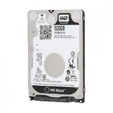 "Western Digital 500gb 2.5"" Hd Sata 7200rpm Scorpio Black, 32mb, 5yrs War Hanbwd5000lplx"