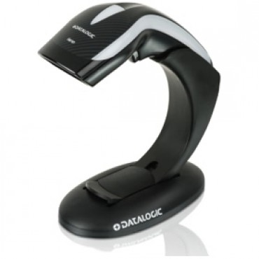 Datalogic Heron Hd3130 1d Usb Scanner Kit, Inlcudes Cable, Stand And 1d Scanner Hd3130-bkk1b