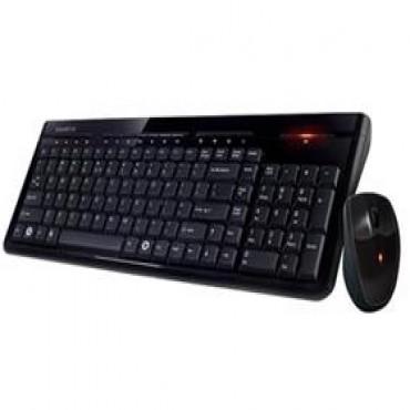 Gigabyte KM7580Desktop Set v2 WL, Spill Resistant, Nano Receiv KBG-KM7580