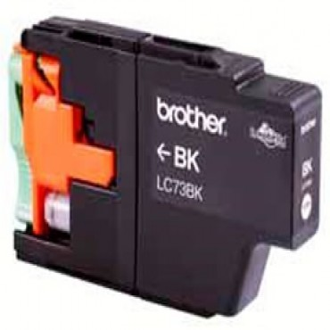 Brother Lc73bk Black Ink Up To 600 Pages Lc-73bk