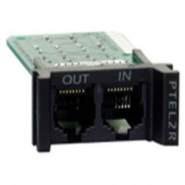Apc 1u, 2 Line Telco Surge Protection Module Ptel2r