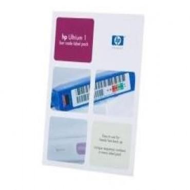 Hp Ultrium 1 Bar Code Label Pack A Pack Of 110 Uniquely Sequenced Ultrium Bar Code Labels Q2001a