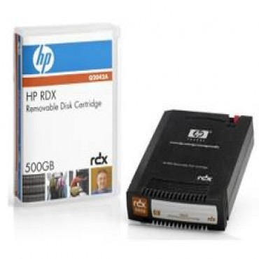 Hp Rdx 500gb Removable Disk Cart Hp Rdx 500gb Removable Disk Cartridge (q2042a)