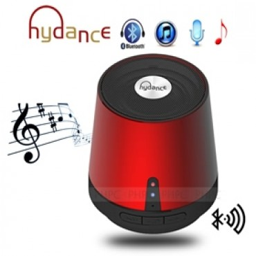 Hydance Maxi Sound Mp3 Player With Mini Bluetooth Speaker & Power Bank - Red Spkhydmaxisndrd-b
