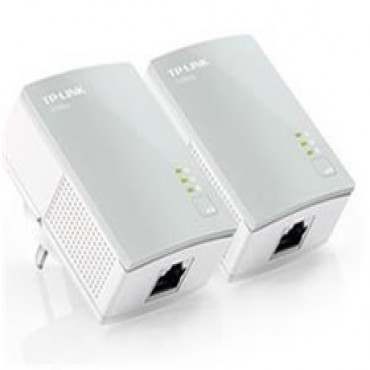Tp-link Pa411 Powerline Kit 500mbps, Fast Enthernet Tl-pa411-kit