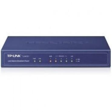 TP-LINK 5 PORT MULTI-WAN ROUTER, 10/ 100 (1 LAN & 1 WAN), 3YR TL-R470T