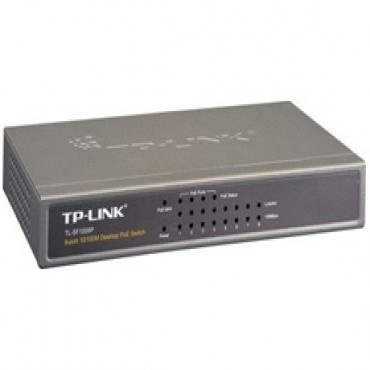 Tp-link Sf1008p Poe Switch 10/ 100m, Desktop, 8ports, Steel Nwtl-sf1008p