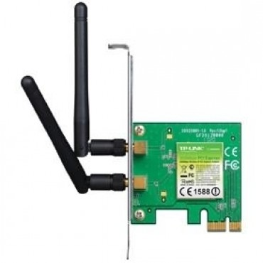 Tp-link Wn881nd N300 Adapter Pci-e, 2.4ghz, 2 X Antennas Tl-wn881nd