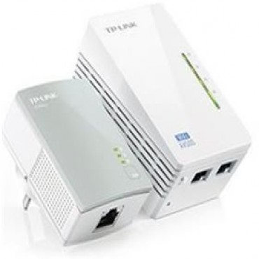 Tp-link Wpa4220 Powerline Kit Wireless N300 Extender Tl-wpa4220-kit