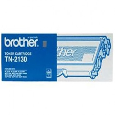 Brother TN-2130 Black Toner Suits HL-2140/ 2170W, 1500pg TN-2130