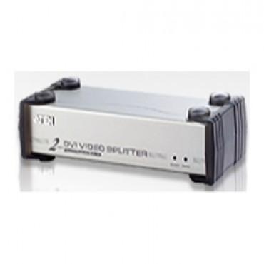 Aten Vs-162 2 Port Dvi Video Splitter 1600x1200 @ 60hz