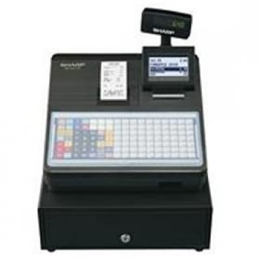 Sharp Xea217b Cash Register With Flat Keyboard, Electronic Journal And Receipt Printer. Colour