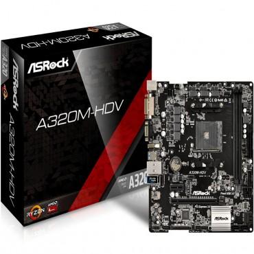 ASRock Super Alloy Supports DDR4 3200+/ 2400 1 PCIe 3.0 x16 1 PCIe 2.0 x1 HDMI DVI-D D-Sub 3Yrs