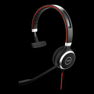 Jabra (6393-829-209) Evolve 40 Uc Mono Headset 6393-829-209
