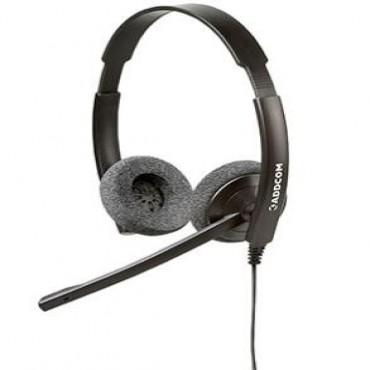 Addcom (add-44) Binarural Headset For Everyday Use Add-44