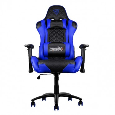 Aerocool Black & Blue ThunderX3 TGC12 Adjustable Ergonomic Motorsports Inspired Desk Chair AER-4710700959558