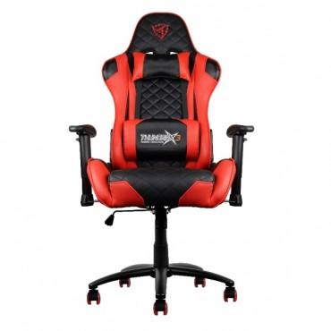 Aerocool Black & Red ThunderX3 TGC12 Adjustable Ergonomic Motorsports Inspired Desk Chair AER-4710700959565