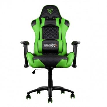 Aerocool Black & Green ThunderX3 TGC12 Adjustable Ergonomic Motorsports Inspired Desk Chair AER-4710700959572